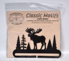 Classic Motifs 6 Inch Alaska Moose Craft Holder - $10.50
