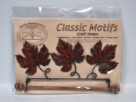 Classic Motifs 7.5 Inch Autumn Leaf Craft Holder - $20.95