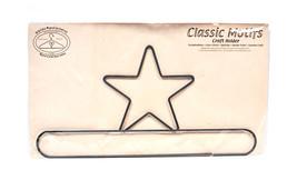 Classic Motifs Star 16 Inch Split Bottom Craft Holder - $14.75