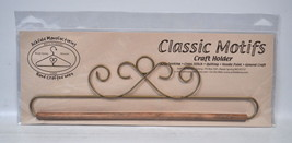 Classic Motifs 12 Inch Gold French Curl Craft Holder - $15.75