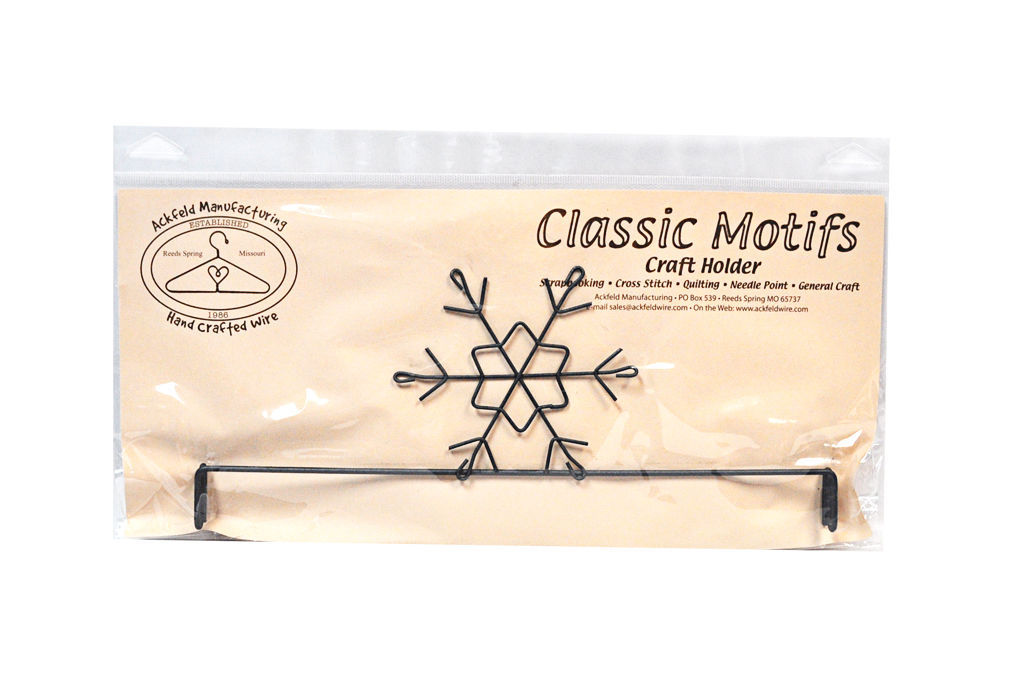 Classic Motifs Snowflake 12 Inch Header