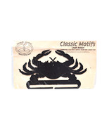 Classic Motifs Crab 8 Inch Charcoal Craft Holder - $18.95