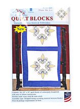 Quilt Blocks Fleur De Lis - $16.75