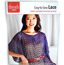 Easy-to-Sew Lace Sewing Book - $10.50