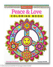 Peace & Love Coloring Book - $9.99