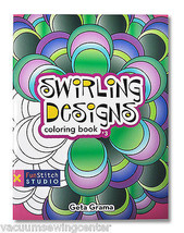 Swirling Designs Coloring Book - $6.95