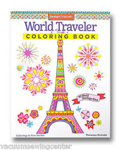 Wold Traveler Coloring Book - $9.99