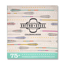 Cotton + Steel Coloring Book - $15.99