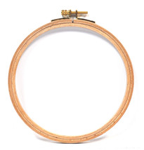 Edmunds German Machine Wood Embroidery Hoop 6in - $16.95