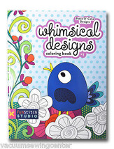 Whimsical Designs Coloring Book - $6.95