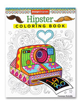 Hipster Coloring Book - $9.99