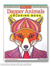 Dapper Animals Coloring Book - $9.99