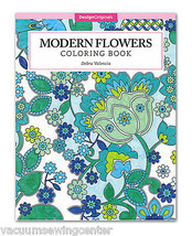 Modern Flowers Coloring Book - $9.99