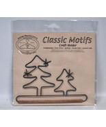 Classic Motifs 6 Inch Evergreen Craft Holder With Dowel - $13.75