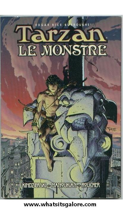 Tarzan Le Monstre graphic novel - $8.00