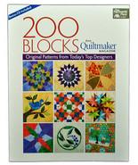 Quilting Book 200 Blocks Original Patterns MCB1148 - $34.75