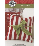 Ho Ho Holidays, Loops & Threads Crochet and Knit Pattern Booklet Christm... - $7.95