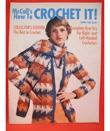 Vintage Crochet Crocheting Patterns FAMILY Poncho Bikinis Afghan Coats RETRO - $14.95