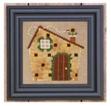 House of Flowers Kit cross stitch kit Bent Creek  - $19.80