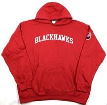 Large Chicago Blackhawks Hoodie Men's NHL Hockey Pullover Sweatshirt Exclusive