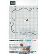 BORDER CHART w/buttons for World of Color series from Bent Creek  - $7.50
