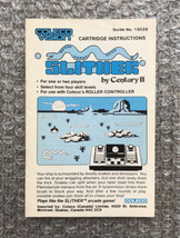 Slither - **ORIGINAL MANUAL ONLY** - ColecoVision - LIGHT WEAR - $6.65