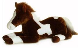 Aurora World 28'' Plush JUMBO PAINT the HORSE Super Flopsie ~NEW~ - $48.29