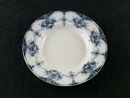Soho Pottery Flow Blue Imperial Soup Bowl, Antique Tunstall England Soup... - $24.75