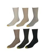 GOLD TOE Women's 6-Pack Turn Cuff Assorted Socks - $29.21