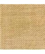 FABRIC CUT 30ct straw linen 11x27 for BORDER CHART World of Color Bent C... - $14.40