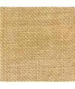 FABRIC CUT 30ct straw linen 9x9 for World of Color series Bent Creek  - $6.00