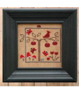 Red #1 World of Color Snapper Series cross stitch chart Bent Creek  - $6.75