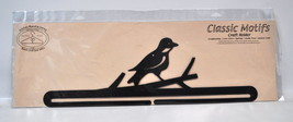 Classic Motifs 18 Inch Split Bottom Bird On A Branch Holder - $24.25