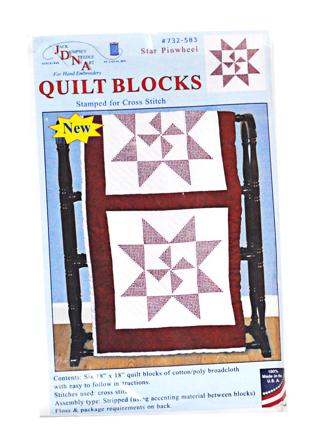Quilt Blocks Star Pinwheel