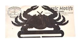 Classic Motifs Crab 8 Inch Copper Split Bottom Craft Holder - $18.95