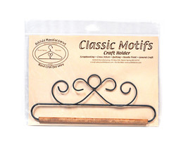 Classic Motifs French Curl With Dowel Craft Holder - $13.75