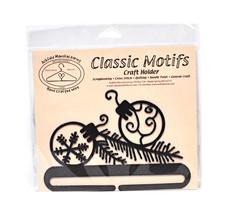 Classic Motifs Balsam 6 Inch Charcoal Split Bottom Craft Holder - $18.95