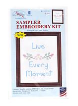 Sampler Embroidery Kit Live - $12.55