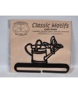 Classic Motifs 6 Inch Watering Can Charcoal Craft Holder - $15.75
