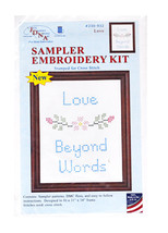 Sampler Embroidery Kit Love - $12.55