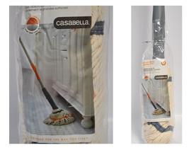 Casabella Cotton Wring Leader Mop Graphite & Or... - $26.25