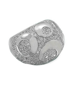BIG, BOLD and SASSY! Rhodium Plated Sterling Si... - $45.00