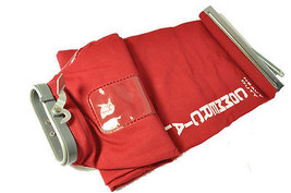 Sanitaire Red Twill Cloth Shake Out Bag, E-54582-1 - $42.00