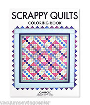 Scrappy Quilts Coloring Book - $9.94