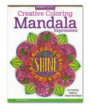 Creative Coloring Mandala Expressions - $9.99