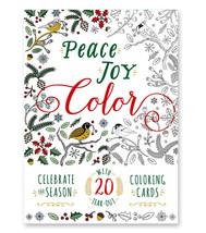 Peace Joy Color Coloring Book - $9.99