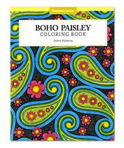 Boho Paisley Coloring Book - $9.99