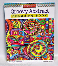 Groovy Abstract Coloring Book - $9.99