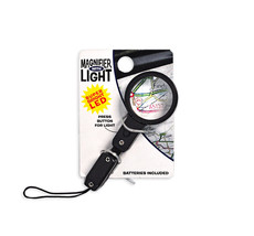 Black Micro Magnifier with light  - $6.35