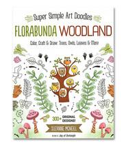 Florabunda Woodland Coloring Book - $12.99